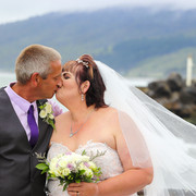 Sheryl and Andrew get married - and the rain stayed away!
