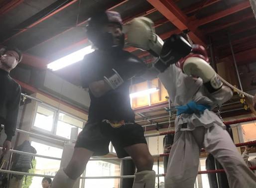 キックボクシング・あしたのその8「フットワーク」