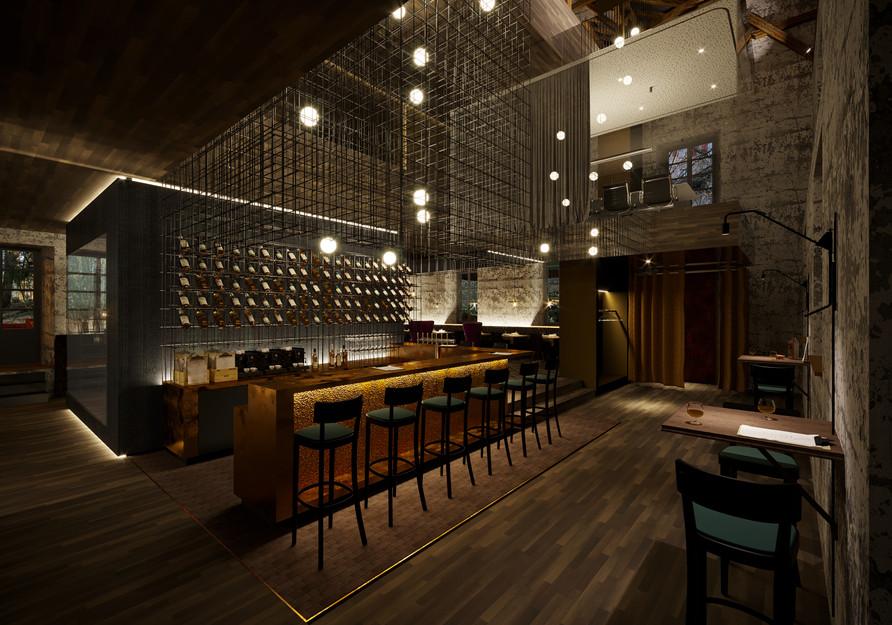 Visualisierung Bar, Eingang