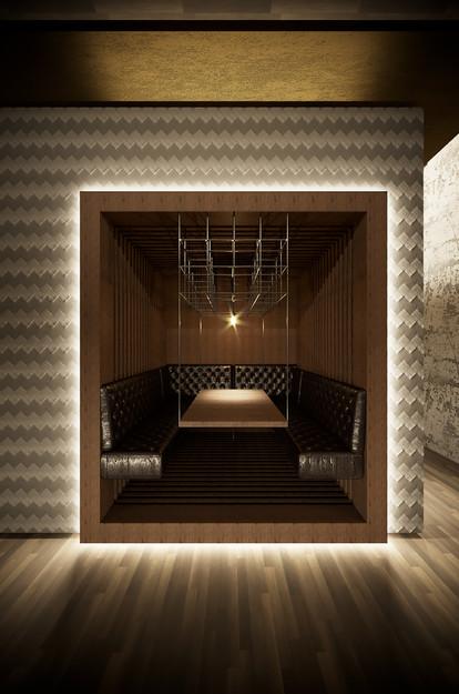 Visualisierung Sitznische