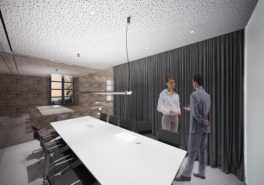 Visualisierung Konferenzraum