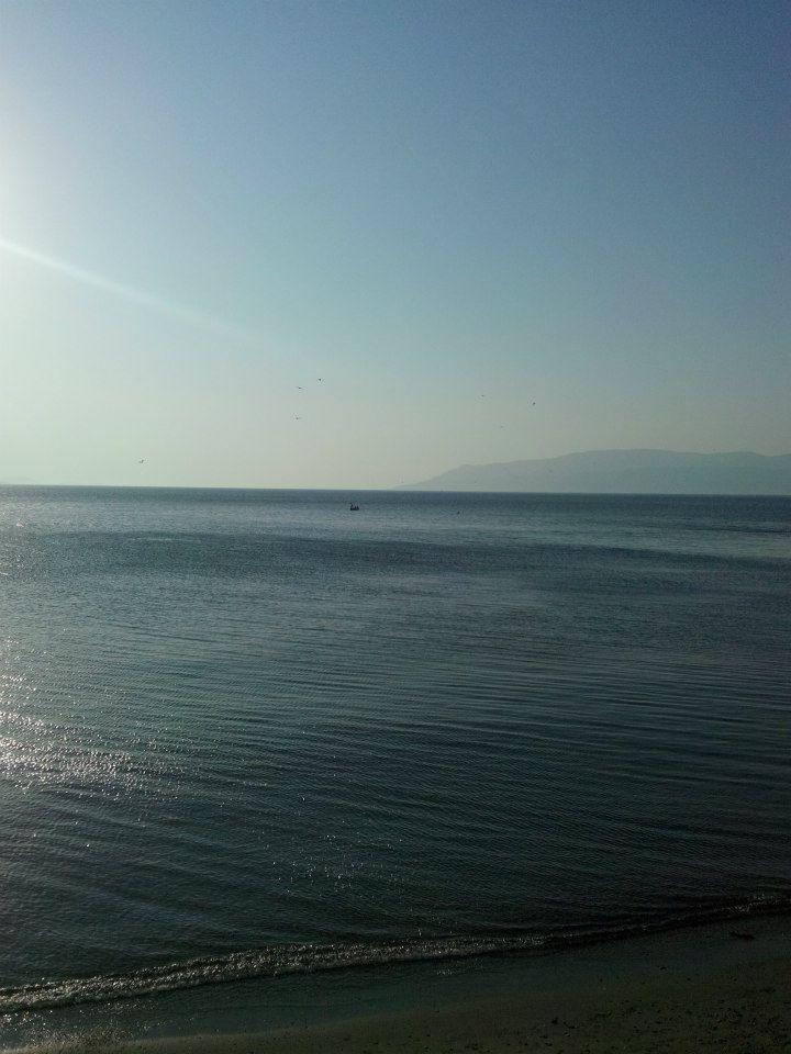 ERDEK,deniz; uzaktan bakınca tabi...