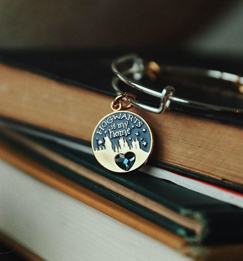 Hogwarts is My Home designed by Emily Lopuch for Alex and Ani and Warner Bros.