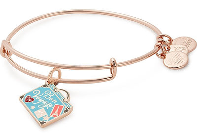 Bon Voyage jewelry designed by Emily Lopuch for Alex and Ani.