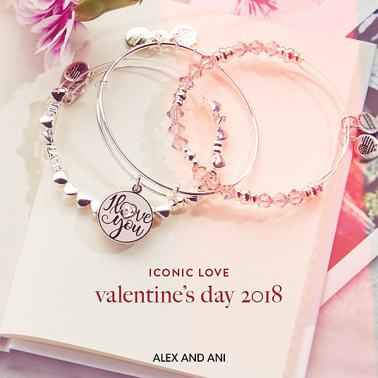 I Love You jewelry designed by Emily Lopuch for Alex and Ani.