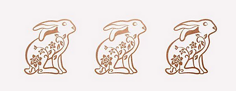 Floral Rabbit designed by Emily Lopuch for Alex and Ani.