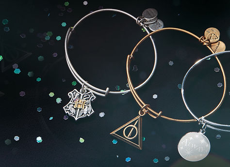 Harry Potter charms designed by Emily Lopuch for Alex and Ani and Warner Bros.