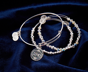 Lumos designed by Emily Lopuch for Alex and Ani and Warner Bros.
