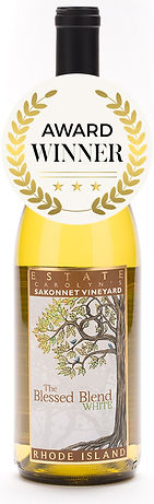 The Blessed Blend designed by Emily Lopuch for Sakonnet Vineyards.