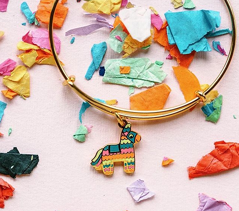 Pinata jewelry designed by Emily Lopuch for Alex and Ani.