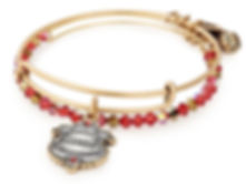 Gryffindor Bangle designed by Emily Lopuch for Alex and Ani and Warner Bros.