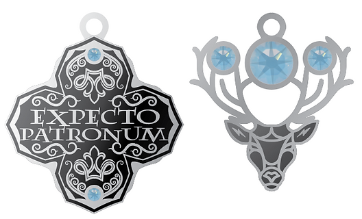 Expecto Patronum designed by Emily Lopuch for Alex and Ani and Warner Bros.