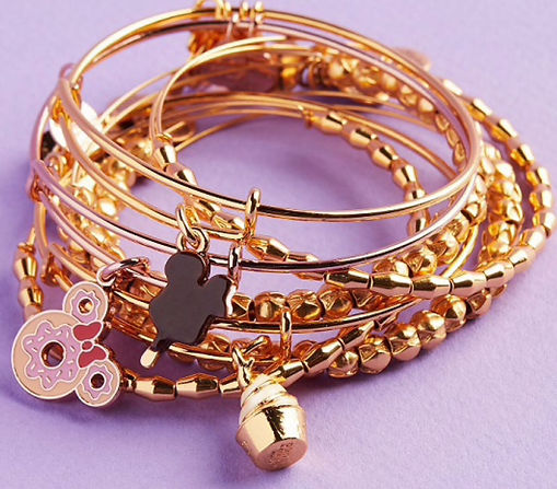 Disney Park Food designed by Emily Lopuch for Alex and Ani and Disney.