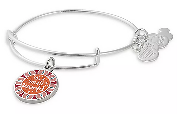It's A Small World Charm designed by Emily Lopuch for Alex and Ani and Disney.
