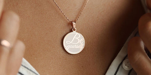 Be Yourself jewelry designed by Emily Lopuch for Alex and Ani and Peacelove.
