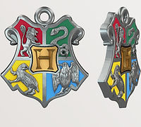 Hogwarts Crest designed by Emily Lopuch for Alex and Ani and Warner Bros.