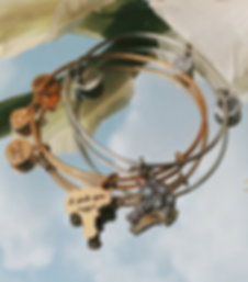 I Pick You Flowers Bridal jewelry designed by Emily Lopuch for Alex and Ani.