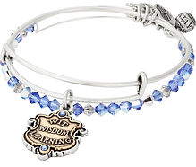 Ravenclaw Bangle designed by Emily Lopuch for Alex and Ani and Warner Bros.