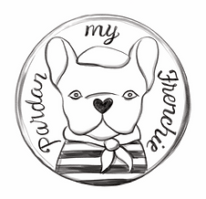 Pardon My Frenchie jewelry designed by Emily Lopuch for Alex and Ani.