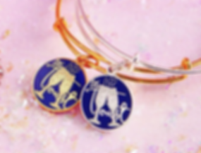 Let's Toast jewelry designed by Emily Lopuch for Alex and Ani.