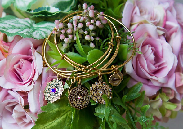 Bridal jewelry designed by Emily Lopuch for Alex and Ani.