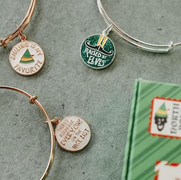 Raised by Elves Elf jewelry designed by Emily Lopuch for Alex and Ani.