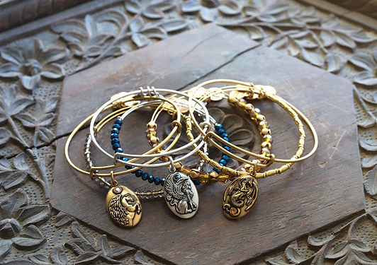 Pegasus, Dragon, Sphinx jewelry by Emily Lopuch for Alex and Ani.