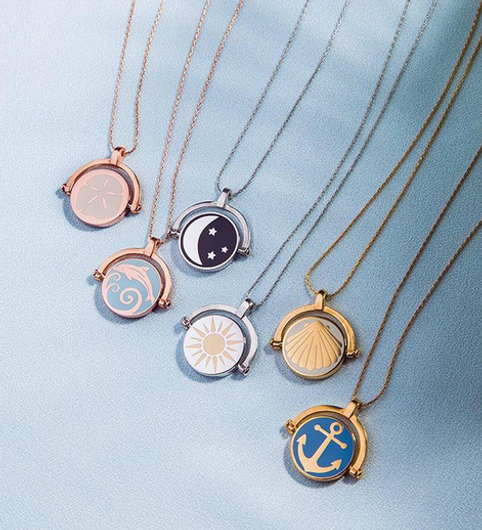 Ocean jewelry designed by Emily Lopuch for Alex and Ani.