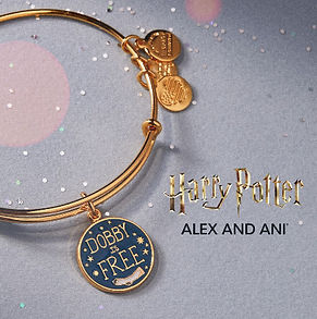 Dobby is Free designed by Emily Lopuch for Alex and Ani and Warner Bros.