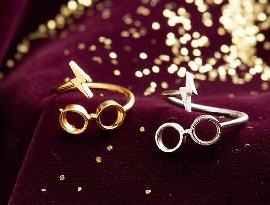 Harry Potter jewelry designed by Emily Lopuch for Alex and Ani and Warner Bros.