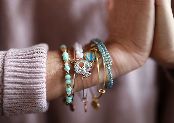 Falcon jewelry designed by Emily Lopuch for Alex and Ani.