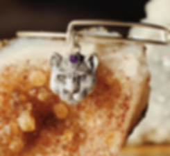 Wild Heart panther jewelry designed by Emily Lopuch for Alex and Ani.
