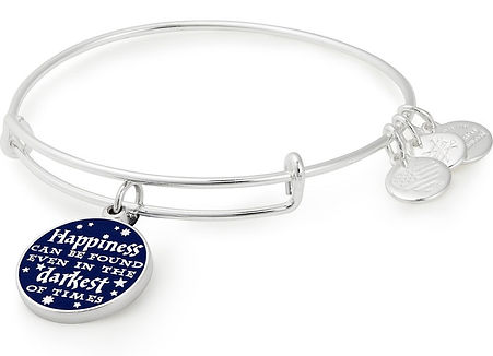 Harry Potter quote charm designed by Emily Lopuch for Alex and Ani and Warner Bros.