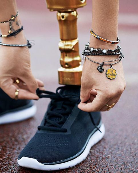 Stay Grounded jewelry designed by Emily Lopuch for Alex and Ani.