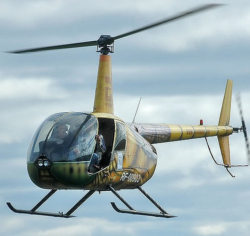 Частный пилот вертолета Robinson 44