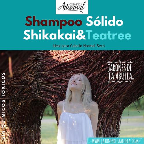 Shampu Sólido CRECE Shikakai-Teatree EN LATA