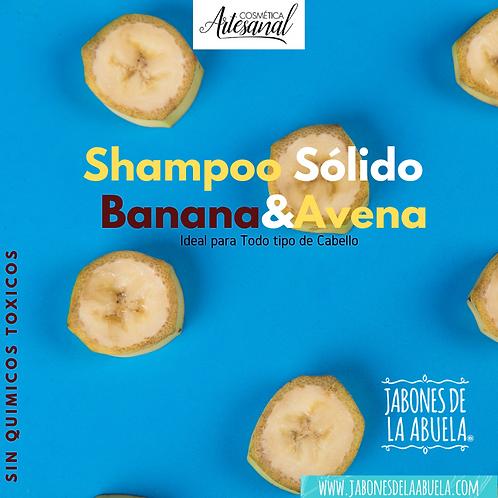 Shampu Sólido EN LATA Banana-Avena