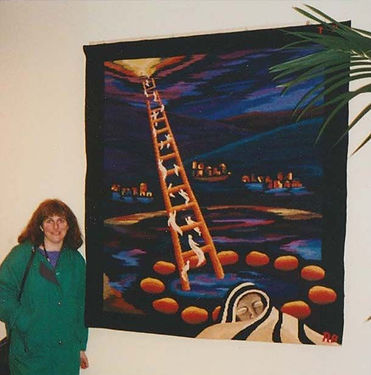 Ruth Bell Jacobs Ladder Tapestry