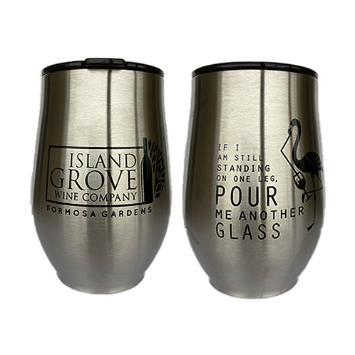 Island Grove Stainless Steel Wine Cup
