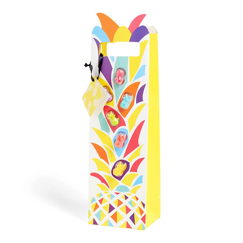 Pineapple Bottle Bag + Glass Markers