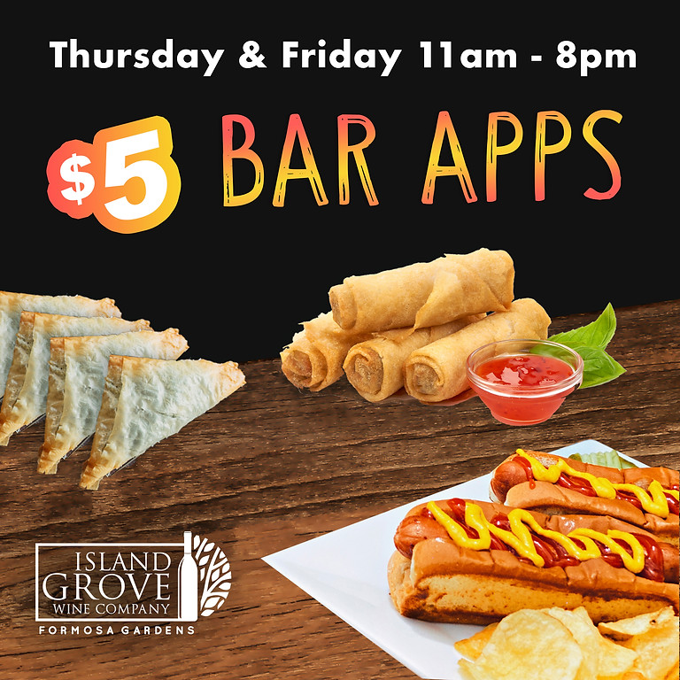 $5 Bar Apps