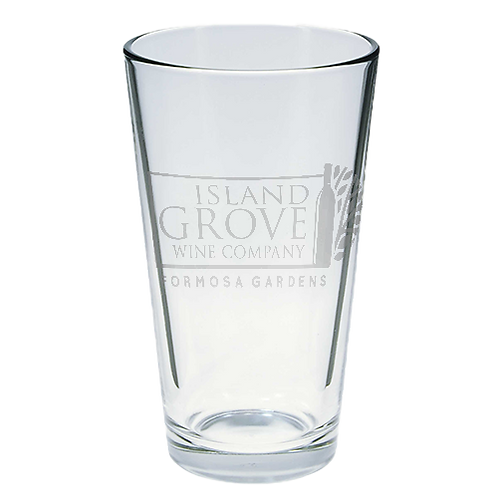 Island Grove Pint Glass