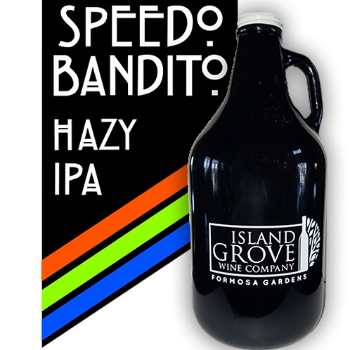 copy of Full Growler of Speedo Bandito Hazy IPA