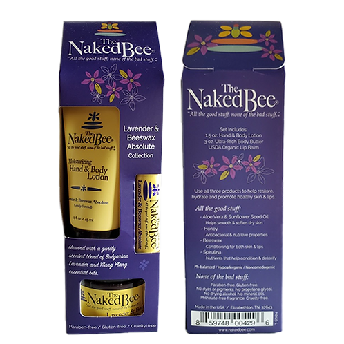 The Naked Bee Lavender Set