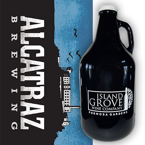 Full Growler of Alkatraz 2X IPA