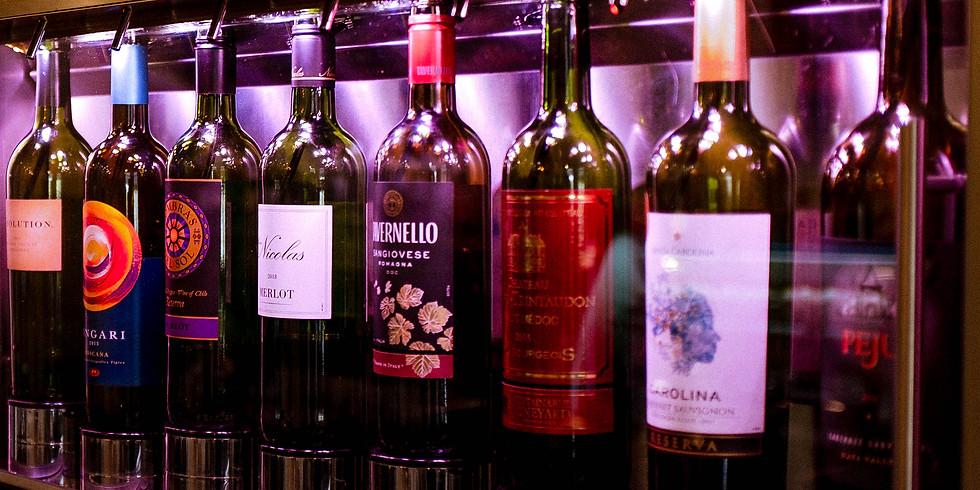 Self-Serve Wine Tastings