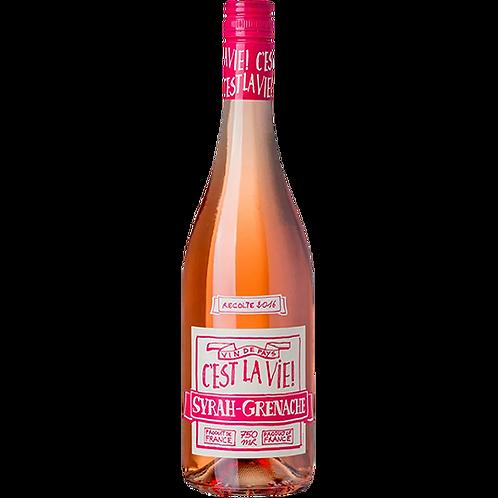 C'est La Vie Syrah-Grenache Rosé
