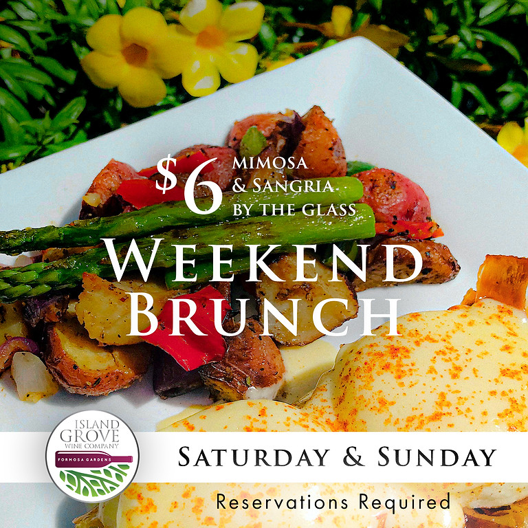 Saturday & Sunday Brunch