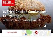 15 fried chicken sandwiches to try in dc