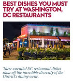 best dishes you must try at washington,